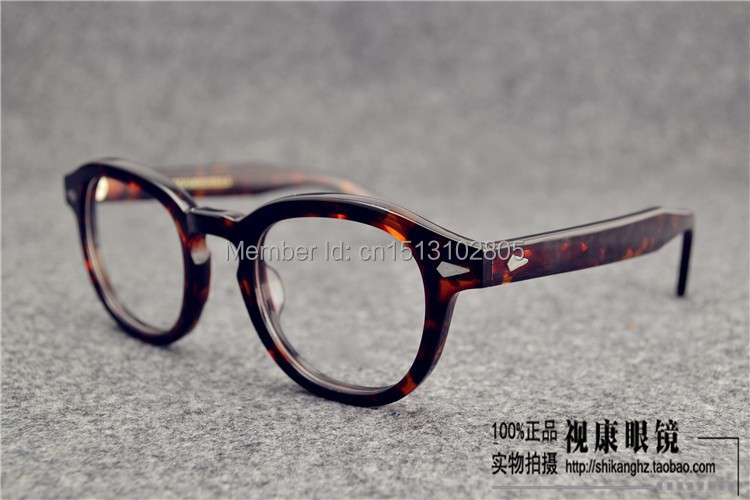 2015 johnny depp glasses top Quality brand round ...
