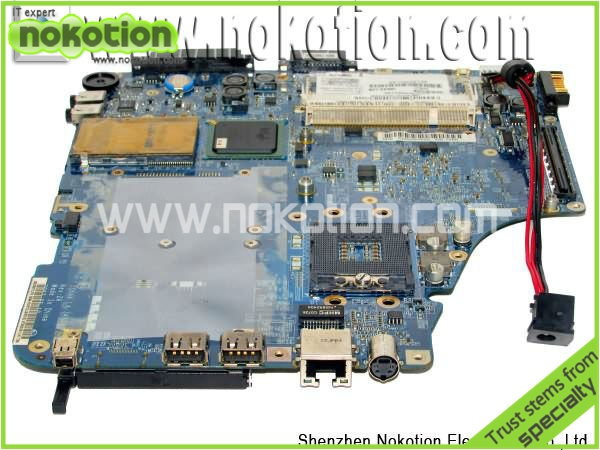 Free Shipping Mainborad LA-3481P for Toshiba A200 Laptop Motherboard DDR2 PM965 Full Tested(China (Mainland))