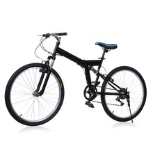 Brand New 26 inch 6 Folding Speed Mountain Bike Sport Cycling Disc Brakes Bicycle Aluminum Alloy 6 Gears Folding MTB Road Bike(China (Mainland))
