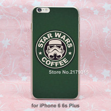 star wars stormtroopers coffee hard transparent clear Cover Case Apple iPhone SE 4 4s 5 5s 5c 6 6s Plus - Jomic store