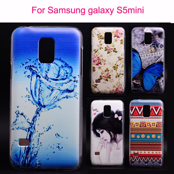 PC Mobile Phone Cases For Samsung Galaxy S5 mini Case Phone accessories cover for samsung galaxy s5 mini Cartoon drawing Cover(China (Mainland))