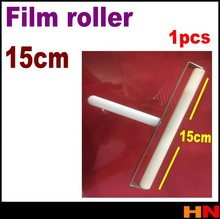 15cm white roller wheel for iPhone 4 4s 5 lcd screen film for samsung foripad for phone protect film(China (Mainland))