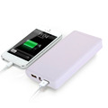 image for Portable 2600mAh Power Bank Mobile USB Battery Charger Black Suitable