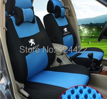 Special Seat Cover For Peugeot 206 207 307 308 408 508 full seat covers car styling