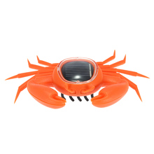 Hot Sale Solar Crab Funny Cute Kids Toys Interesting Solar Powered Energy Crab Original Children's Educational Solar Toys(China (Mainland))