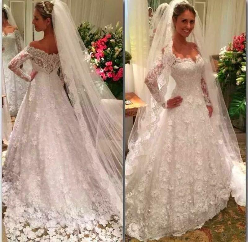 Latest vintage lace mermaid wedding dress 2016 romantic for Romantic vintage lace wedding dresses
