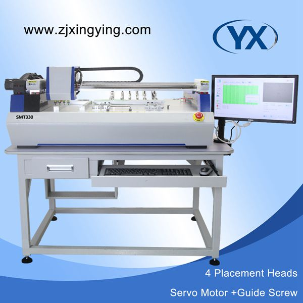 SMT Pick Place Machine LED Mounting Machine with servo motor and guide screw which can meet 1200mm LED(China (Mainland))