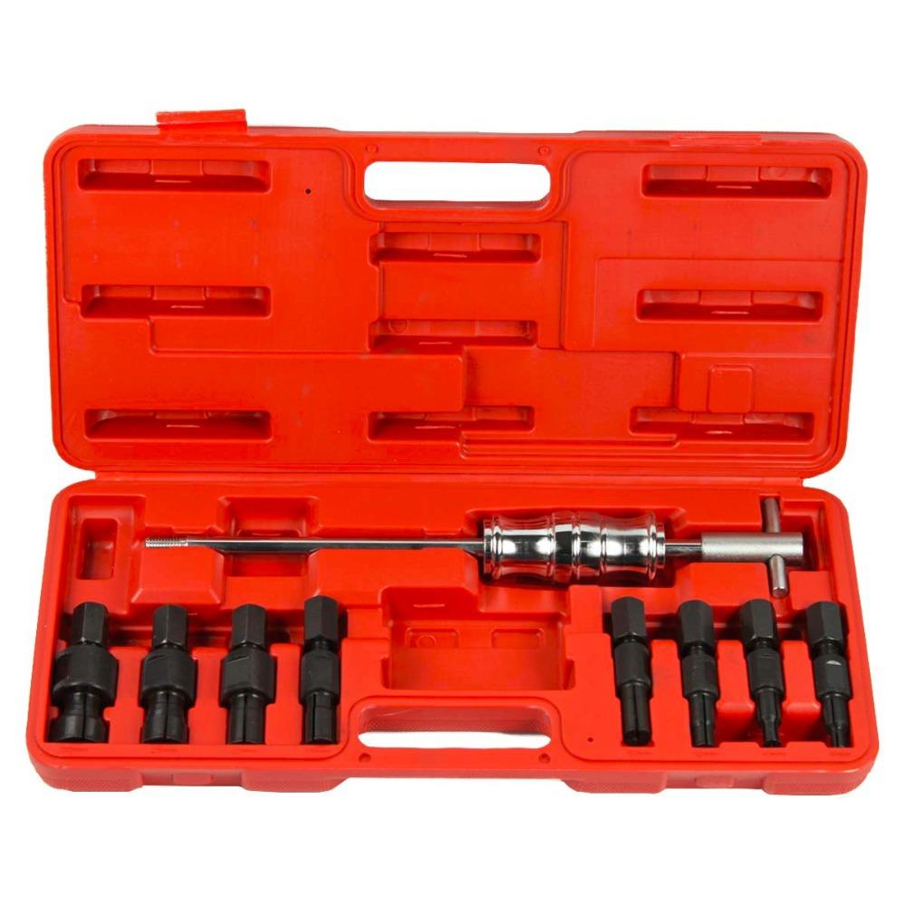 Bearing Puller Tool Set : Pcs auto wheel bearing slide hammer puller tool set