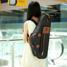 1680D Water-resistant Oxford Cloth Alto Sax Saxophone Bag Soft Cotton Padded Case Gig Bag Adjustable Shoulder Straps Pocket(China (Mainland))
