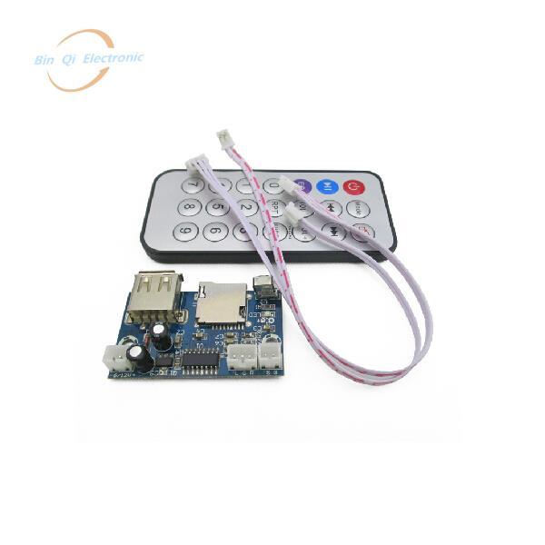 NEW MP3 USB 12V TF Card decoder module DC MP3 decode board WAV lossless decoding board(China (Mainland))