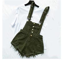 HCYO плюс размер комбинезона женский s комбинезон повседневные джинсовые комбинезоны для женщин костюмы пляжного типа и комбинезоны отверст...(China)