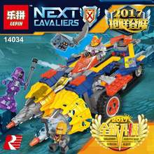 Buy New Lepin 14034 364 PCS Nexus Knights Axl Chariot model anime action figures Building Kits Blocks Bricks toys children gifts for $22.95 in AliExpress store