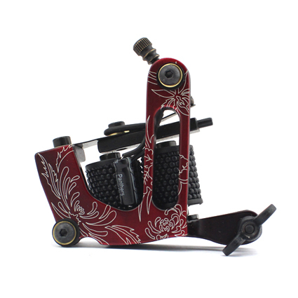 1pcs Professional Handmade 10 Wrap Coil Rotary Tattoo Machine Alloy Maquinas Tatuagem 5 Colors for Choose(China (Mainland))