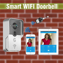 New Wifi video door phone doorbell Wireless Intercom Home Security For Iphone Samsung Tablet Control IP Door Phone Door bell