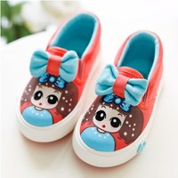 4 Colour Kids Cut Canvas high  Shoes  girls   candy-colored children's classic casual sneakers