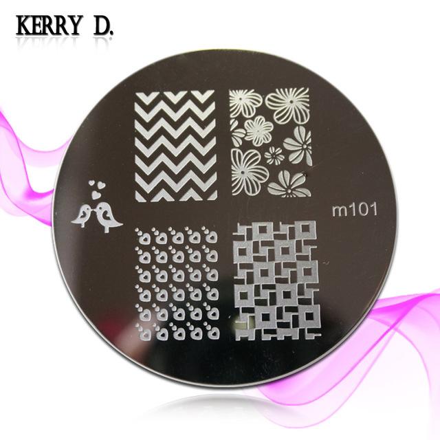 stamping nail art image plate M 82 to M100 series choose design template nail stamp