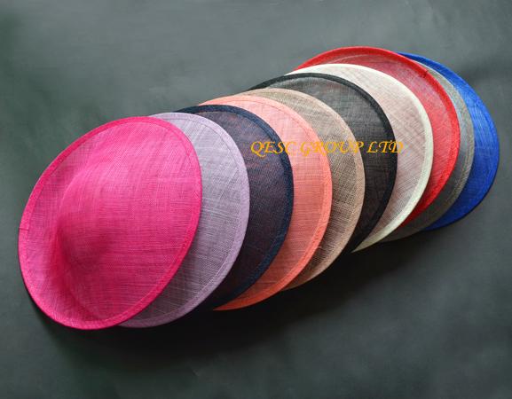 [해외]13 colors.High quality. Large sinamay fascinator bas..