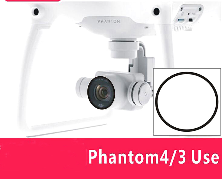 DJI Phantom 4 Phantom 3 accessories camera lens thin glass protective film protective film dust and scratch(China (Mainland))