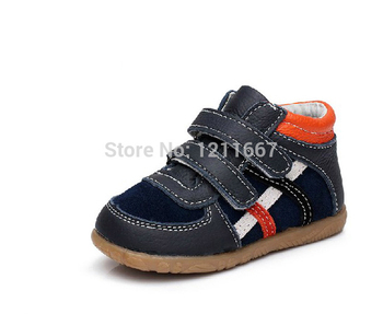 Free shipping 2016 cattle genuine leather toddler shoes  male children child shoes baby  beach boys girl sandal kids footwear