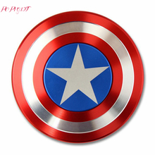 Buy Captain America Fidget Spinner Metal Aluminum Alloy Stress Reliever Hand Spinner Autism ADHD EDC Anti Stress Toys Fidget Spiner for $2.92 in AliExpress store