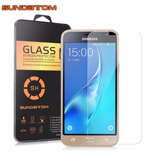 HD Clear Glass Screen Protector for Samsung J3 2016 J320 SM-J320 Tempered Glass(China (Mainland))