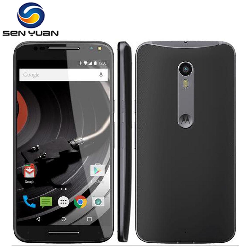 "Original Motorola X Style XT1575 mobile phone 3GB RAM 16GB/32GB ROM Hexa Core 4G LTE Cell Phone 5.7"" 21MP moto x style XT1575(China (Mainland))"