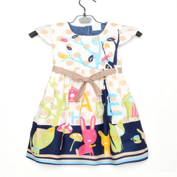 Платье для девочек Unbrand Casaul 2/7 YRD XXX платье для девочек unbrand baby v 2 6 kids dress