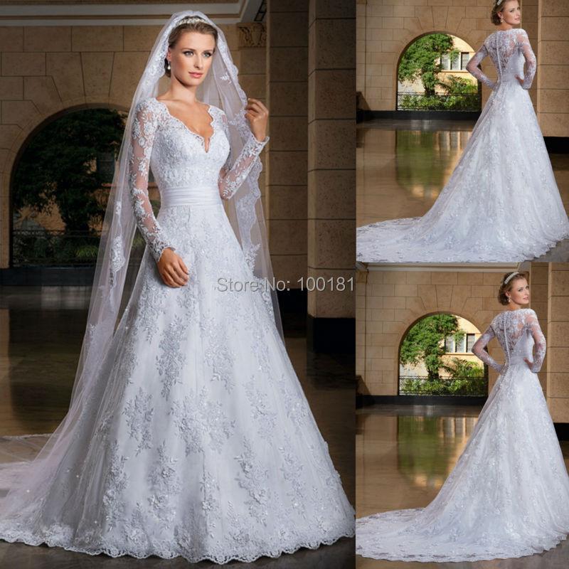 robe-de-mariage-muslim-wedding-dresses-bride-vintage-vestidos-de-boda ...