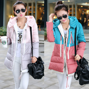 Maternity Winter Coat! 2014 Hot Sale! Solid Thicken Cloths For Pregnant Women Fashion Down Coat Winter Outerwear XXXL(3XL)(China (Mainland))