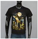 2014 בקיץ האחרון פופולרי guns n 'Roses הלהקה או הצוואר חולצה 3D הדפסה שרוולים קצרים חולצה T022