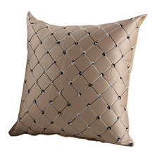 Multicolored Plaids Throw Square Cushion Cover