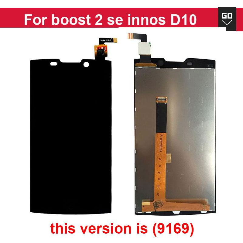 100% Original Replacement For Highscreen boost 2 se innos D10 Full Lcd Display Touch Screen Digitizer Assembly