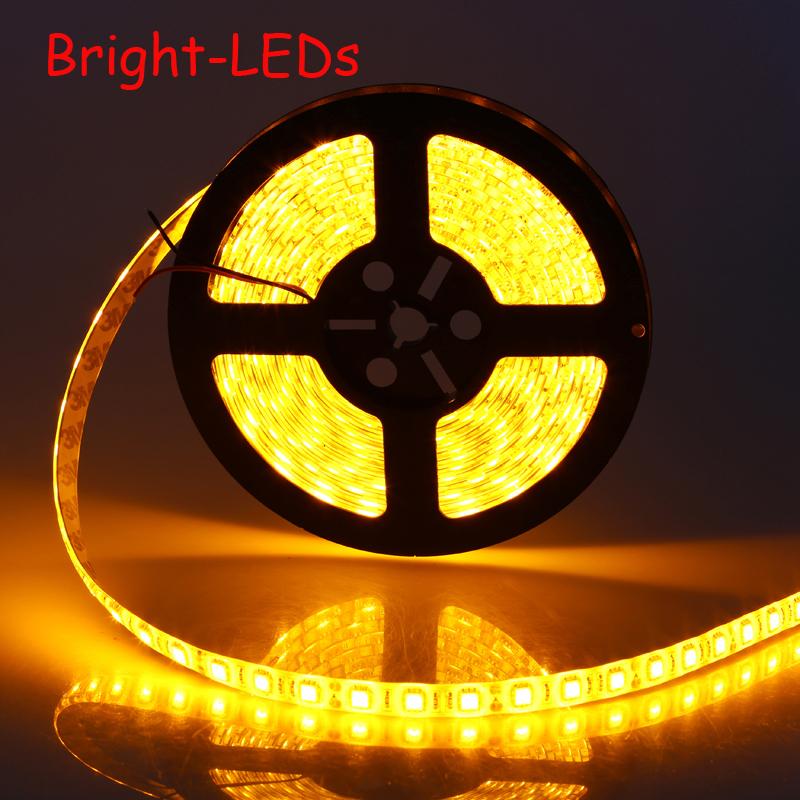 NEW 2015 LED NON Waterproof Strip SMD 5050 LED 5M DC12V Flexible Light saving string light ...
