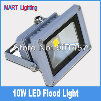 ultra bright 10w  980lm waterproof led flood light outdoor spot wash wall landscape lighting lamp
