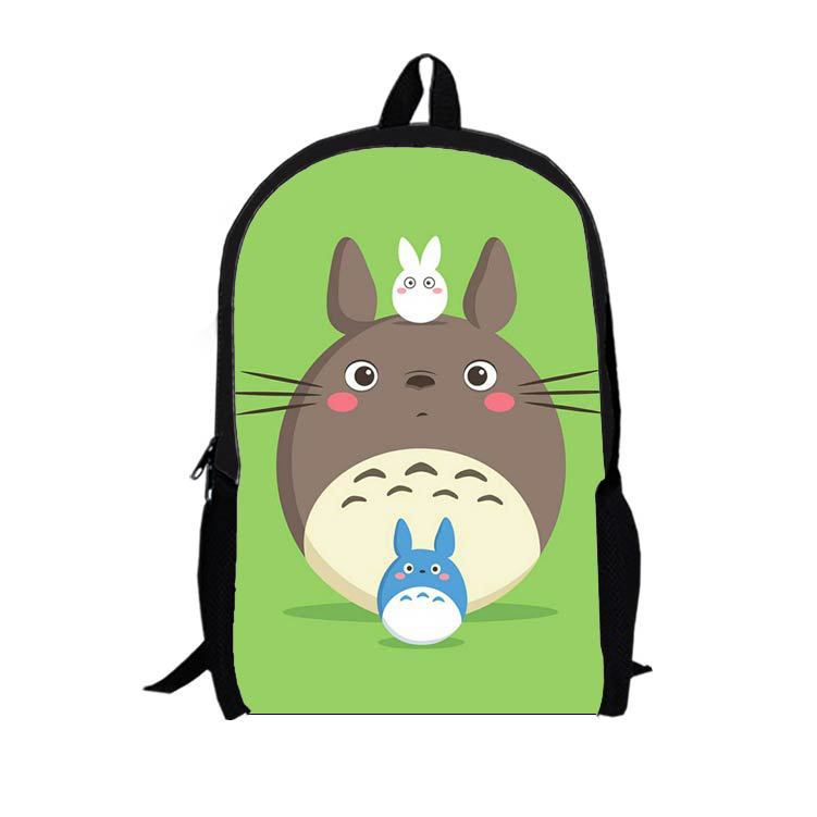 16-inch multifunction cartoon Totoro backpack shoulder bag personalized backpack schoolbag T2(China (Mainland))