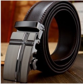 2014 Summer New Fashion Male Genuine Leather Belt Casual Men's Automatic Buckle Strap Designer Belts - AiPinky store