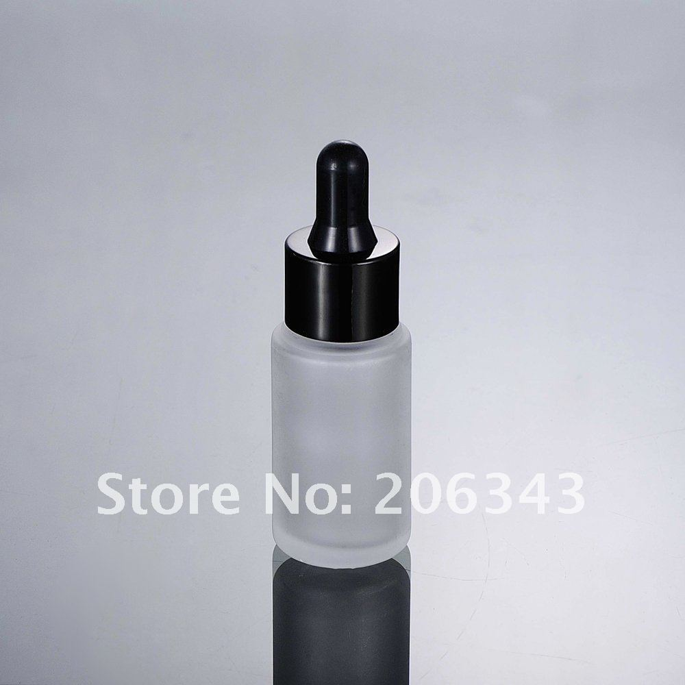 Ml frosted glass bottle dropper lotion