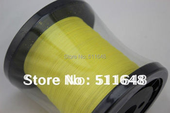Free Shipping 1000M 10LB PE Braid Fishing Line YELLOW PE Fishing Line