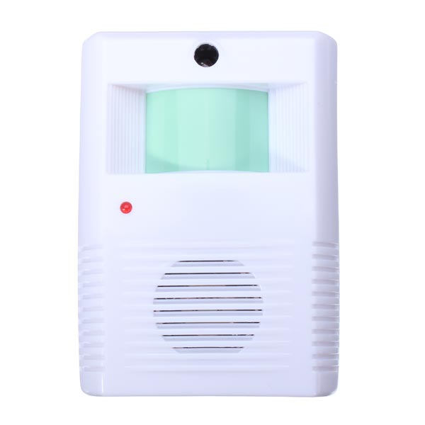 New Hot Sale Home Hotel Restaurant Entry Door Bell Welcome Doorbell Electronic Motion Sensor Alarm White