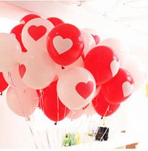 Balónky so srdiečkom 20ks v balení