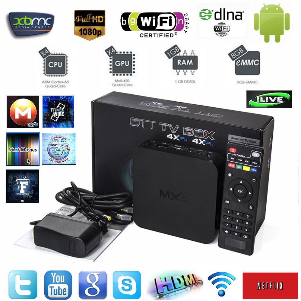 Vensmile MXQ Amlogic S805 Quad-Core 1GB/8GB Smart Tv Box XBMC FULLY LOADED WiFi 1080P H.265 HD Media Player+Remote Control(China (Mainland))