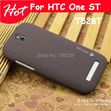 High quality Scrub hard case For HTC One SV T528t case back cover One SV cover for HTC One ST t528t case cover(China (Mainland))