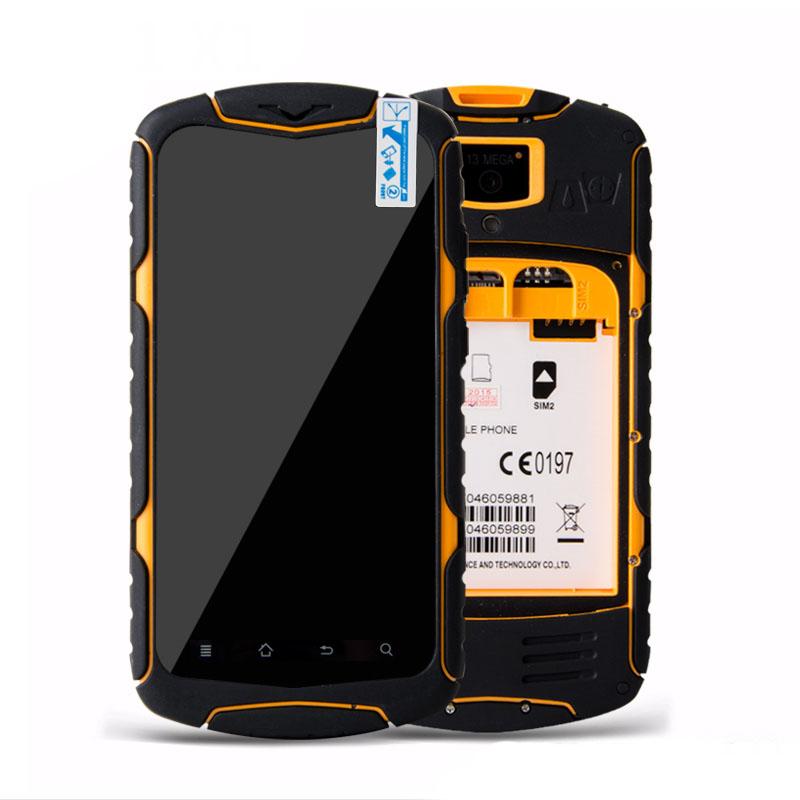 No.1 X1 Men Waterproof Shockproof Phone Android 4.4 MTK6582 Quad core 1GB RAM 8GB ROM 3300mAh Fast shipping Original 5.0 ''(China (Mainland))