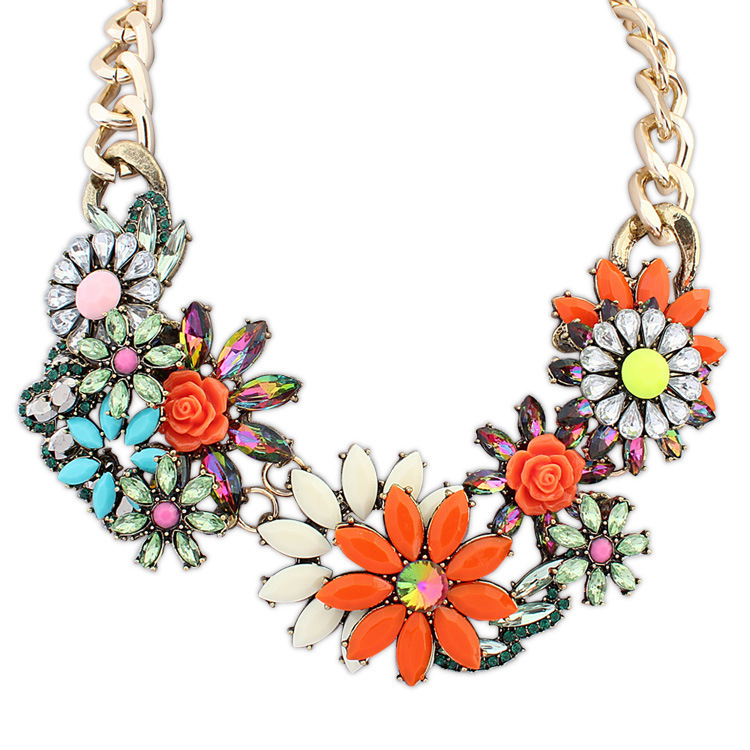 Wholesale Chunky Fashion Necklaces Fashion Necklaces