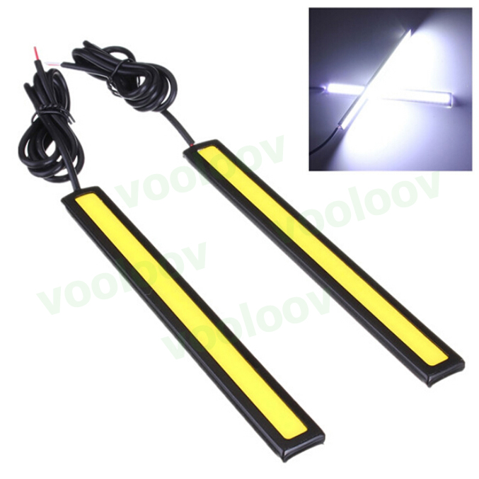 1pcs 15w Waterproof  DRL Led Daytime Running Light   Auto Car  White/ICE Bule 12V Bar Car Light Source day time lights lamp<br><br>Aliexpress