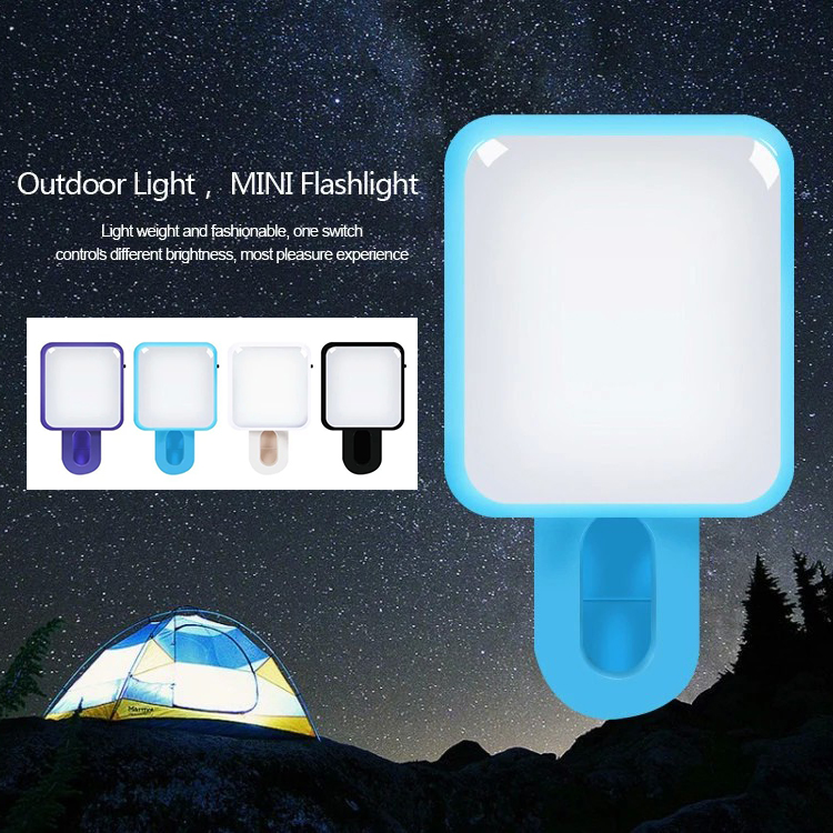 RK10 Mini Portable Selfie Flash Light 9Leds Mobile Phone Retina Flash Light for ISO Android Device(China (Mainland))