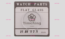 Free Shipping 1pc 2.5mm Thick TK Selected Size from 27~44mm Flat Mineral Round Watch Glass for Watch Repair Watch Crystal(China (Mainland))