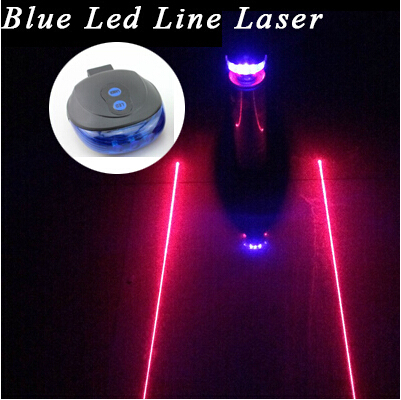 (5LED+2Laser) Bicycle Mountain Road Bike Bicycle Light Laser Tail Light Cycling Safety Warning Rear Lamp Tail Light(China (Mainland))