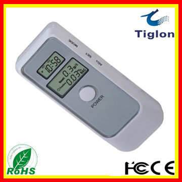 New Arrival Personal Digital Alcohol Tester breath analyzer Alcohol Detector with  LCD display  PFT-662