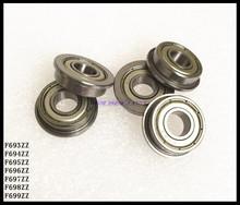Buy 10pcs/Lot F694ZZ F694 ZZ 4x11x4mm Flange Bearing Deep Groove Ball Bearing Mini Ball Bearing Brand New for $5.48 in AliExpress store